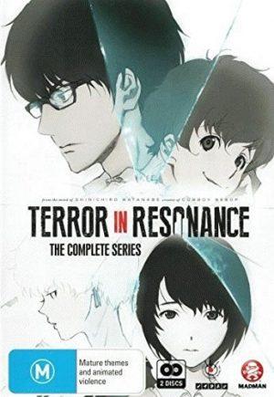 Zankyou no Terror dvd