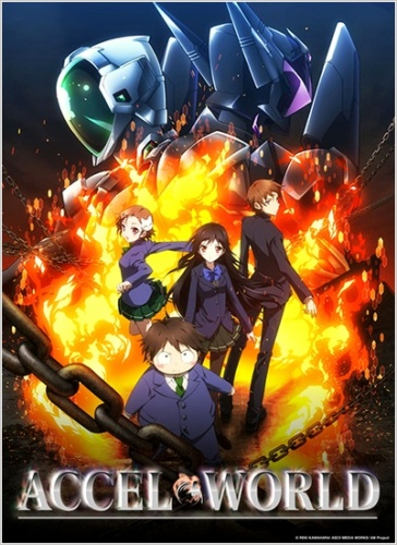 Accel-World-364x500 New Accel World: Infinite Burst Anime Project Announced [PV Included]