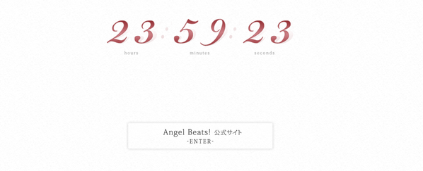 B4VAnn6CMAEsWSk The countdown for Angel Beats has started!