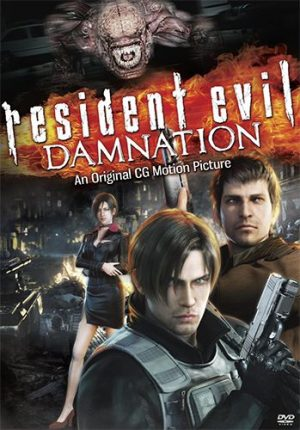 Biohazard Damnation dvd
