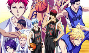 Kuroko no Basket goes from Basketball Court to Big Stage
