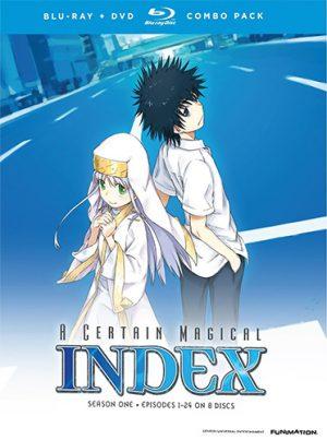 toaru majyutu no index dvd