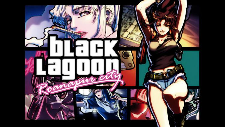 black lagoon fanart