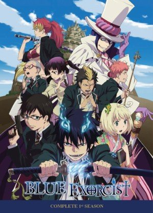 blue exorcist DVD