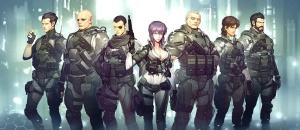 ghost in the shell fanart