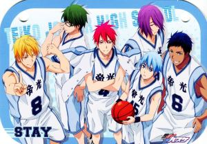 Kuroko-no-Basket-dvd-300x424 Kuroko no Basket Yaoi/BL Moments, Season One Second Dish in Slash Scene Series
