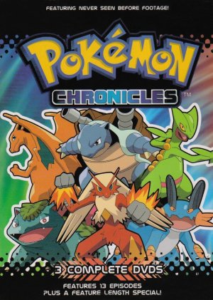 pokemon chronicles dvd