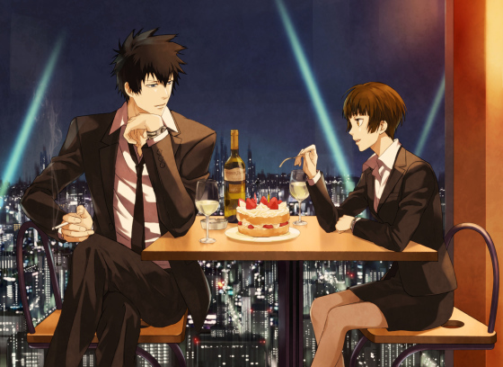 psycho-pass-fanart-01-560x408 This Year's Anime Masterpieces [Japan Poll]