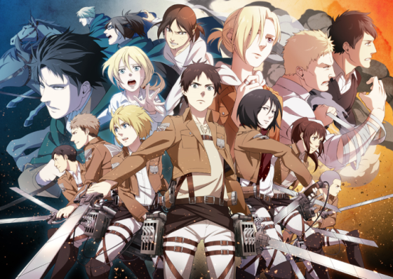 Attack-on-Titan-Soldiers-560x398 Top 10 Must-See Recent Anime