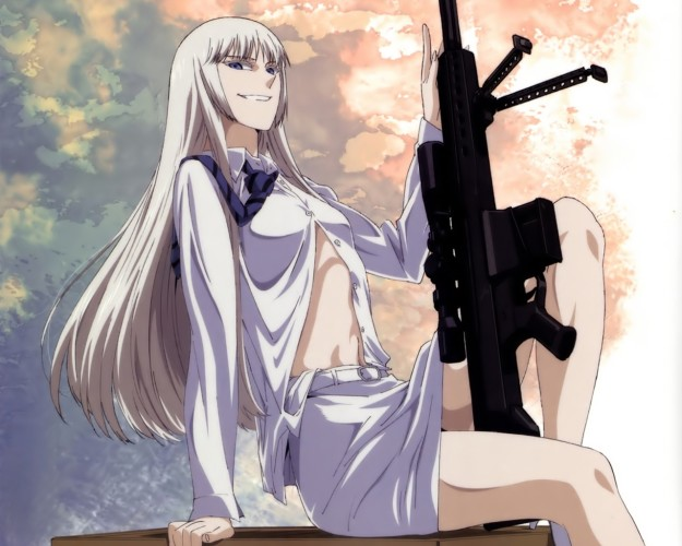Koko-Hekmyatar-Jormungand-wallpaper-625x500 Top 10 Anime Girls with White Hair