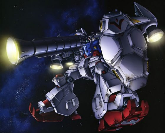 RX-78GP02A Gundam Physalis Gundam Build Fighters wallpaper