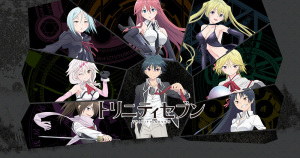 Trinity Seven Review: The Comedy of Ecchi Harem Anime