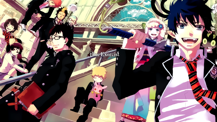 blue_exorcist-wallpaper-888x500 Blue Exorcist Review & Characters - Everyone Has An Inner Demon (Ao no Exorcist)