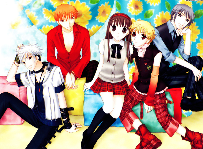 fruits basket anime fruits and veggies
