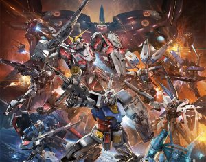 bee-happy2 Mobile Suit Gundam Twilight Axis Anime Announced