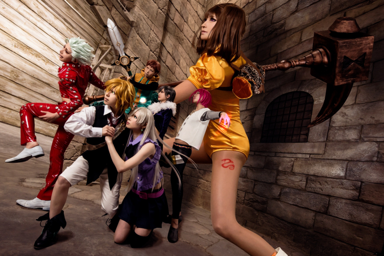7 deadly sins cosplay