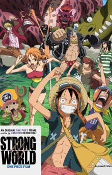 one piece strong world dvd