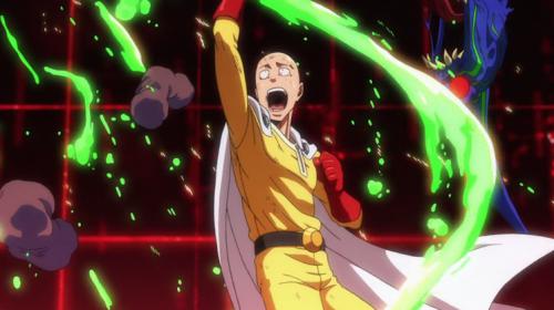 one punch man  saitama vs carnage kabuto