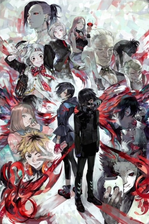 tokyo-ghoul-fanart-625x500 Tokyo Ghoul Review & Characters - Resisting the Urge to Eat