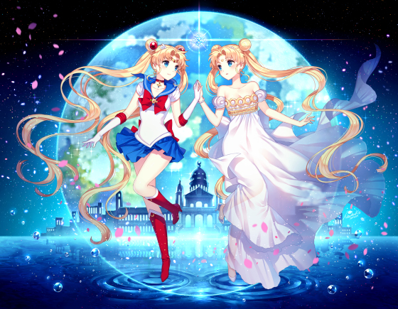 usagi tsukino sailor moon fan art 02