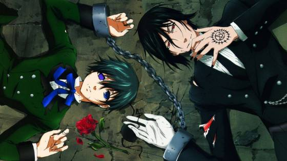 Black Butler wallpaper 02