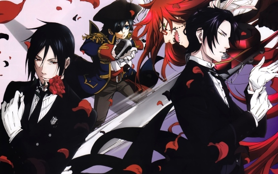Black-Butler-wallpaper-03-560x350 Top 10 Manga Ranking [Weekly Chart 06/03/2016]