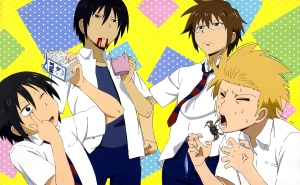 Top 10 Funniest Moments in Danshi Koukousei no Nichijou (Daily lives of High School Boys)