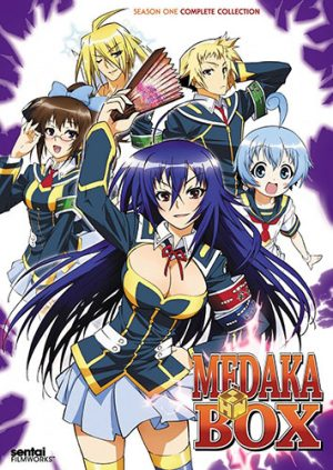 Medaka-Box-dvd-300x423 6 Anime Like Medaka Box [Recommendations]