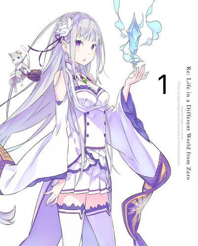 Re.Zero Kara Hajimeru Isekaikseikatsu dvd