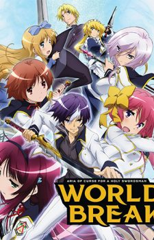Seiken Tsukai no World Break dvd