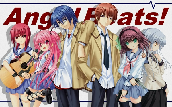 angel beats wallpaper 01