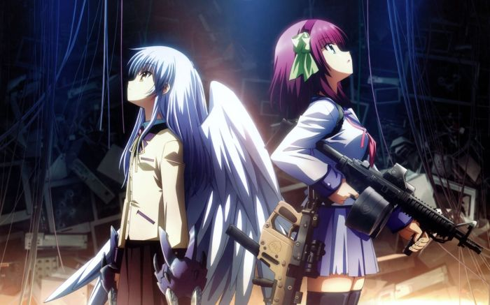 angel beats wallpaper 03