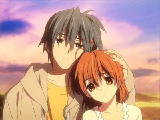 clannad-couple2-560x420 Top 10 Anime You Want to Show Your Children [10,000 Japanese Fans Polled]