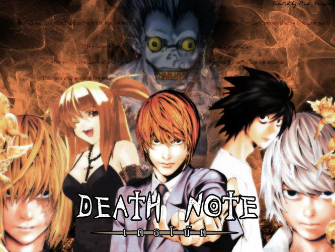death-note-wallpaper-666x500 Top 10 Craziest/Mentally Disordered Death Note Characters