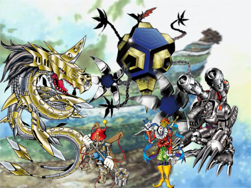 digimon adventure Dark Masters & Apocalymon