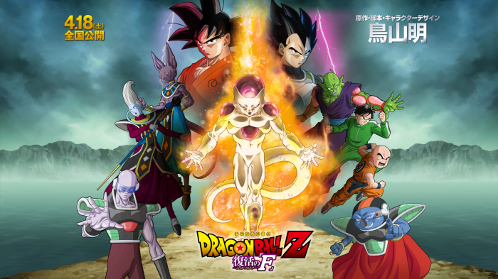 dragon ball Fukkatsu no F Poster