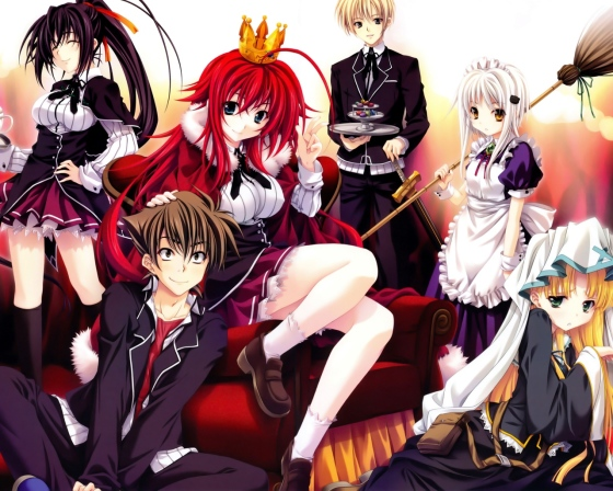 highschool dxd wallpaper 02