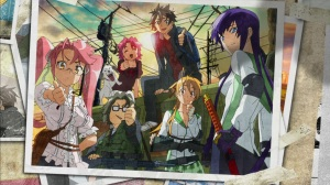 Highschool of the Dead Review & Characters - Protecting a man's pride... is a woman's duty