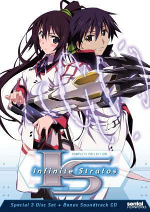 infinite stratos dvd
