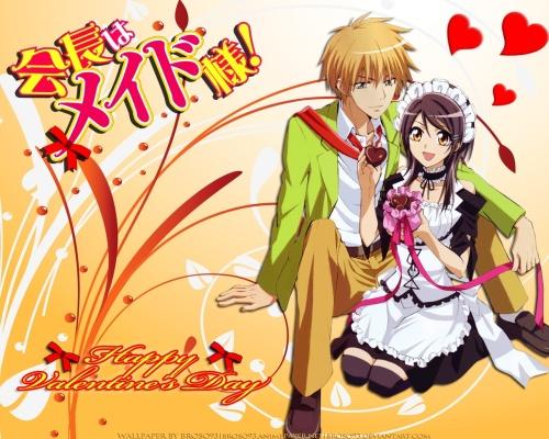 kaitchou wa maid sama wallpaper