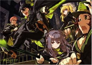 Owari no Seraph (Seraph of the End) Review & Characters - The Moon Demon Company Welcomes You