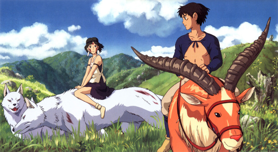 princess-mononoke-couple-560x306 5 Reasons Why Ashitaka and San from Princess Mononoke are the Ultimate Heroic Couple