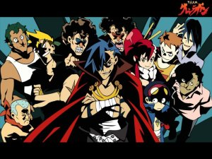 Tengen Toppa Gurren Lagann Review & Characters - Row! Row! Fight The Power!