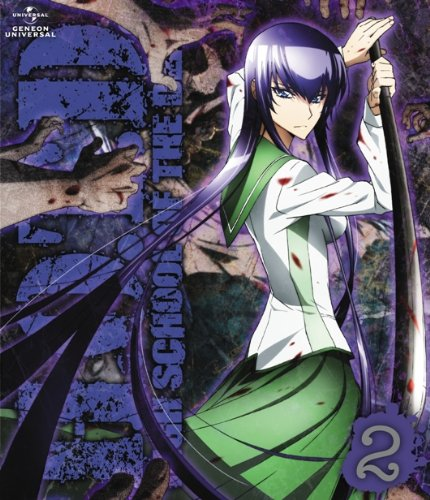 Highschool of the Dead dvd