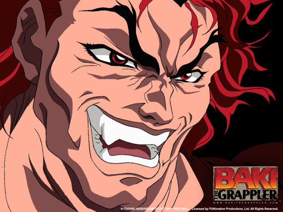 grappler baki hanma wallpapaer