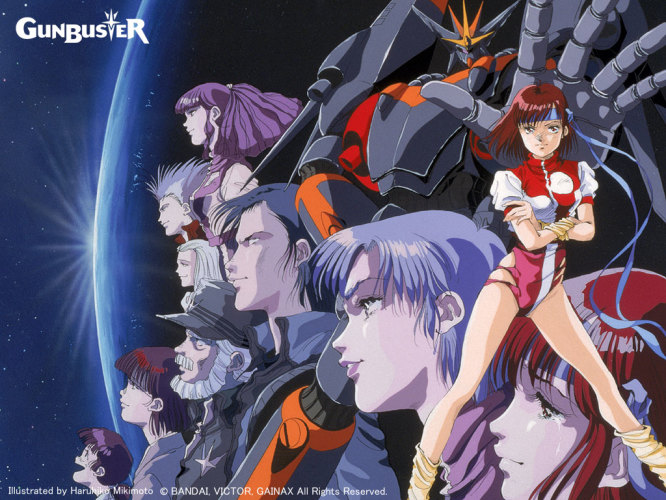 gunbuster-wallpaper-666x500 [Throwback Thursdays] Top wo Nerae! Gunbuster Review & Characters - Aim for the Top!