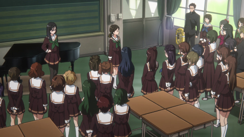 hibike euphonium The band as a whole