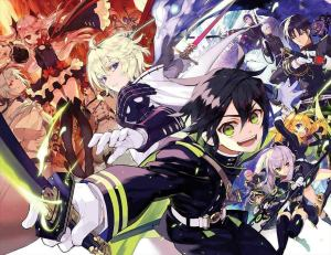 Top 10 Owari no Seraph Characters [Japan Poll]