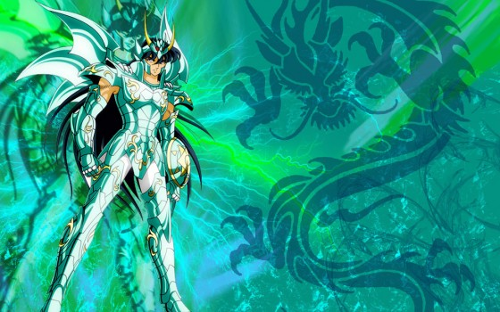 saint seiya Dragon Shiryu wallpaper