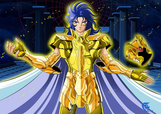 saint seiya gemini saga wallpaper